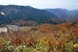 登山道からの眺望