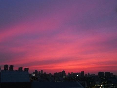 20170622夕焼け