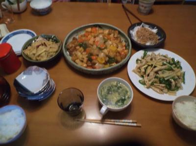 4.30夕食