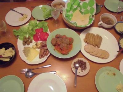 5.5夕食