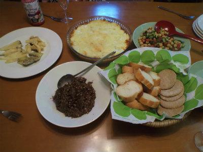 5.3イギリス風夕食