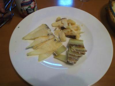 5.3土産のチーズ