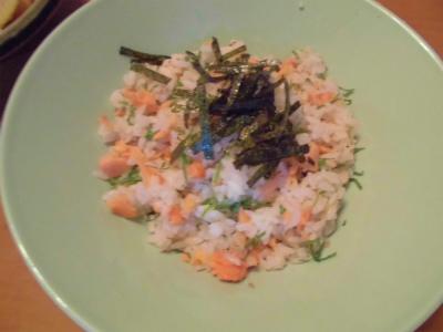 5.6鮭飯