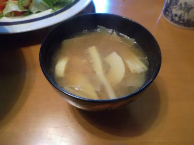 5.13トビウオの味噌汁