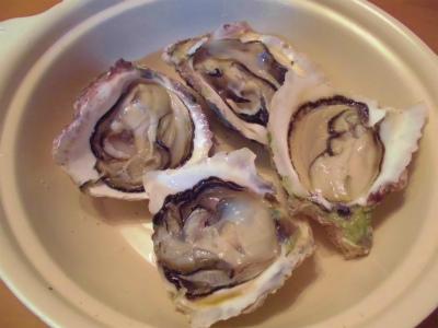 5.15捌いた岩牡蠣