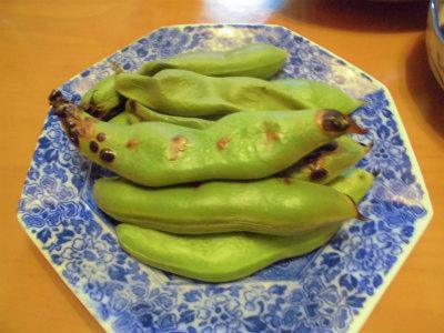 5.18焼き空豆