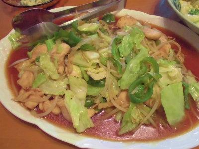 5.26野菜炒め