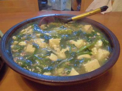 5.27豆腐とほうれん草の旨煮