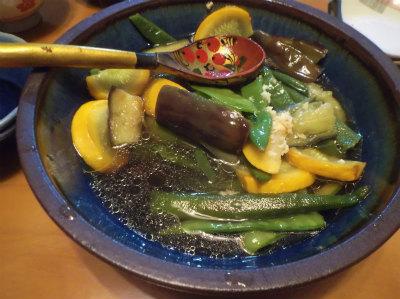 5.31夏野菜の揚げ浸し