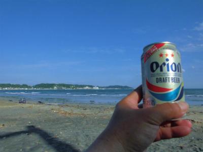 6.2湘南の浜で