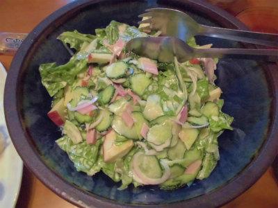 6.15自家野菜サラダ
