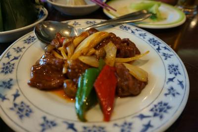 6.4牛肉と野菜の炒め物