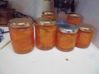 7.1杏子のコンポート