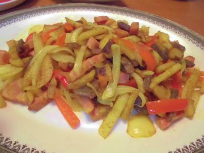 7.7ジャガイモのカレー炒め