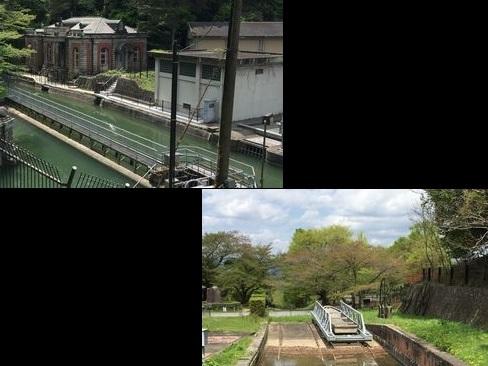 日向大神宮・浄水場とインクライン_H29.04.25撮影