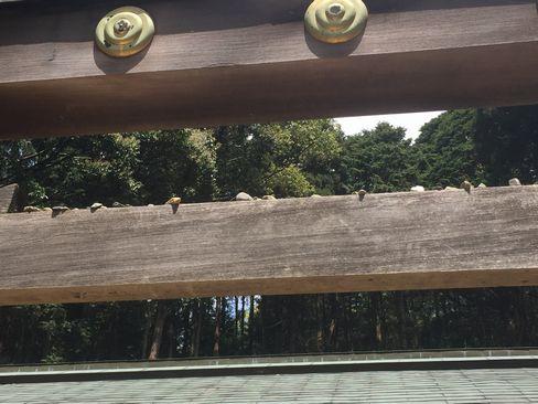 日向大神宮・内宮前の鳥居_H29.04.25撮影