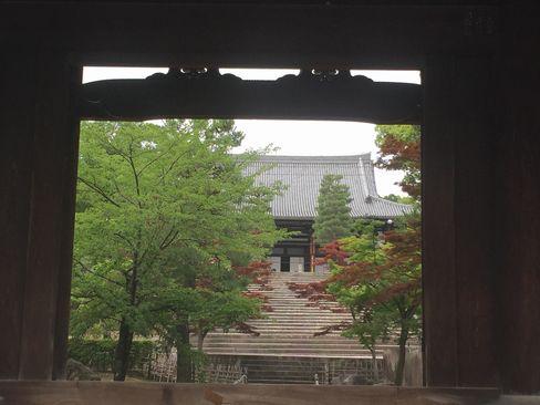 金戒光明寺・山門から御影堂_H29.06.25撮影