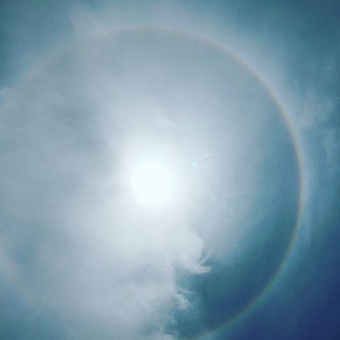太陽に虹_H29.06.26撮影