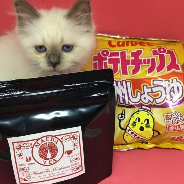九州産紅茶&地域限定ポテトチップス
