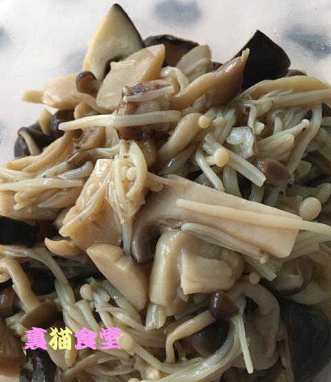 5月18日キノコの炒り煮