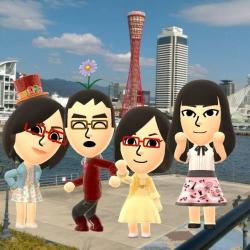 お父さん 神戸 家族写真