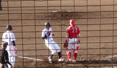 P50809423回裏西部ガス2死一、二塁からダブルスチール、三塁への悪送球間に一人生還し、1点かえす