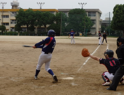 P61331641回左越え二塁打を放った5番(写真は2打席目の左邪飛)