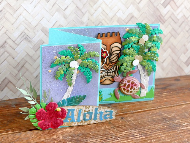 La-La Land Crafts - Ukulele Luka & Hula Marci - Card Making