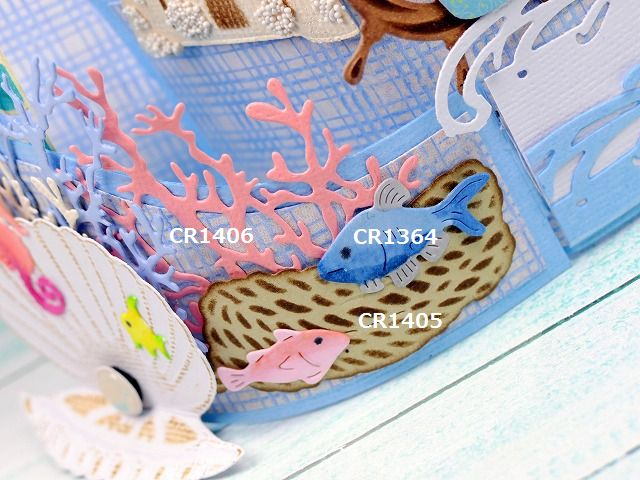 Marianne Design - May 2017 Releases CR1407 CR1406 CR1405 LR0465