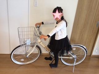 みは7歳自転車