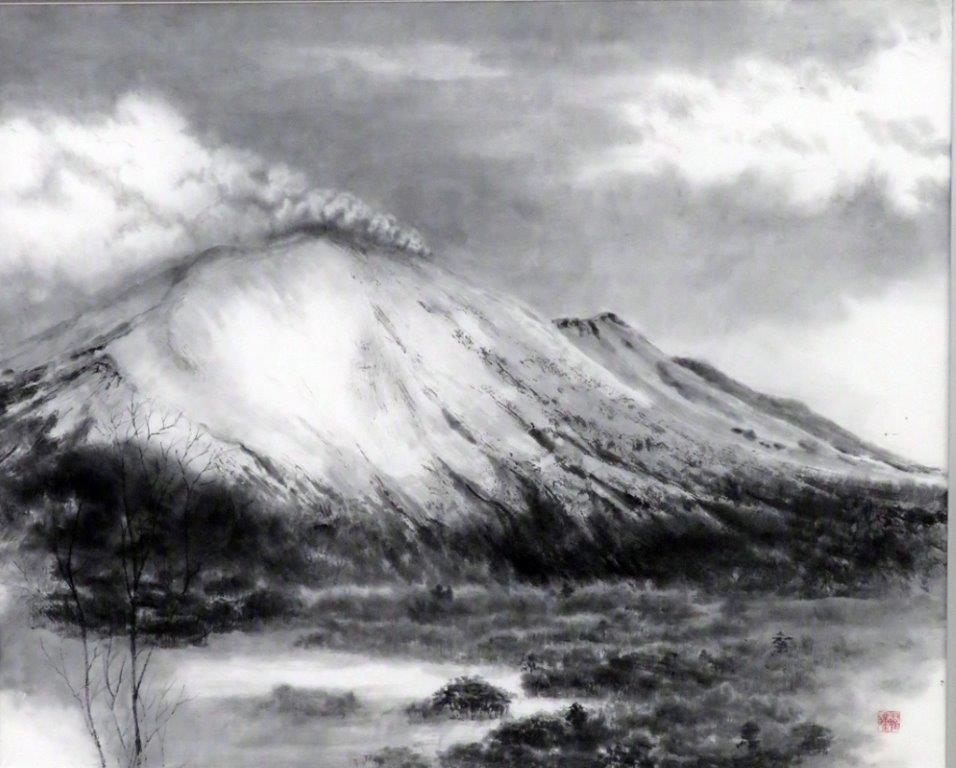 町田正道 浅間山 (2)