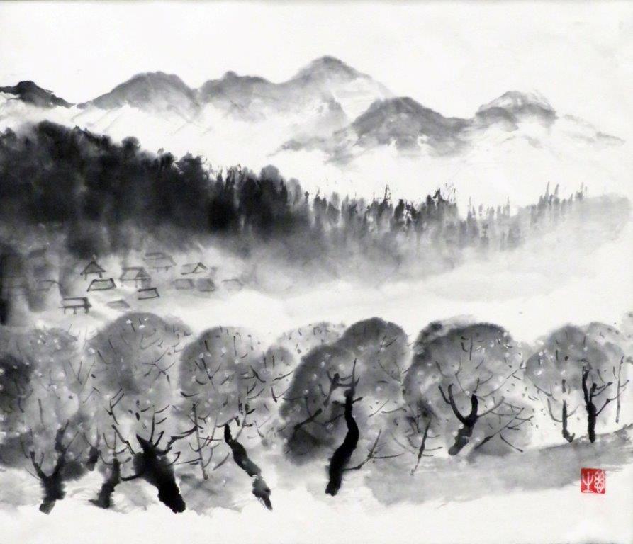 野口シゲ子 桃の春 (2)