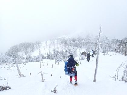 20170218八経ヶ岳20