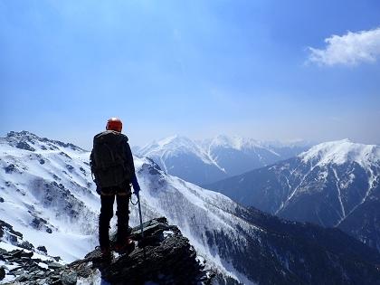 20170318塩見岳20
