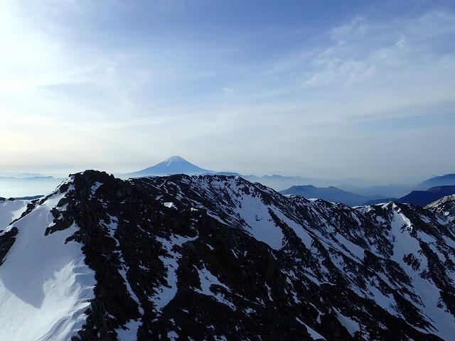 20170430白峰三山縦走55