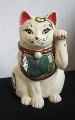 伝統招き猫-すず音窯
