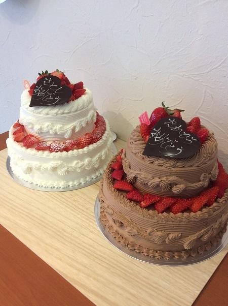 二段ケーキ2