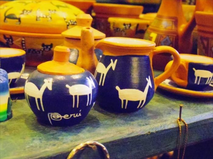 陶器のお土産屋さん