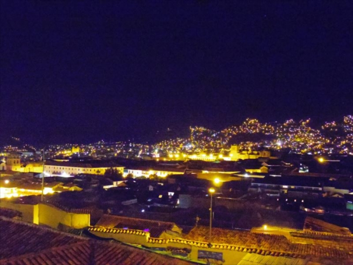 クスコ夜景