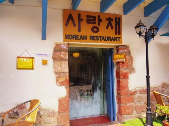 クスコ韓国料理 (1)