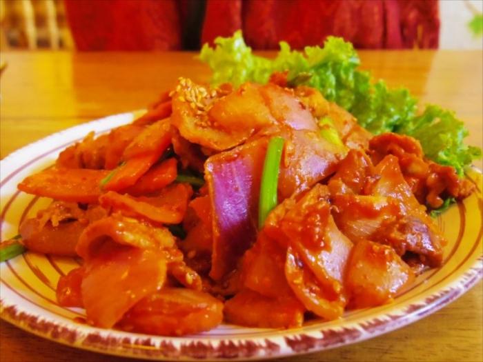 クスコ韓国料理2回目 (5)