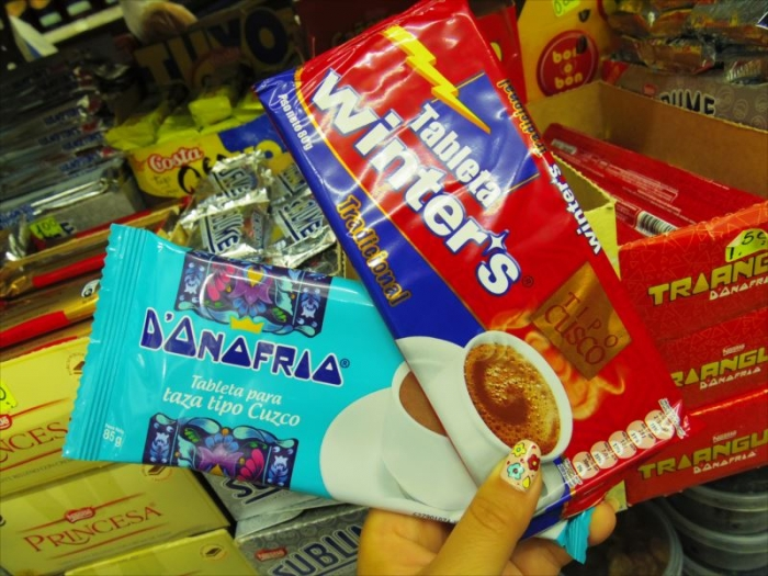 ペルーのホットチョコ (3)