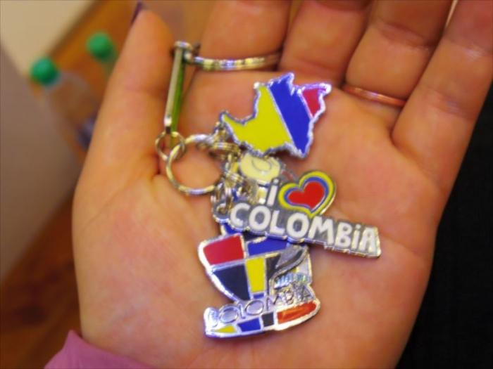 コロンビアキーホルダー (3)