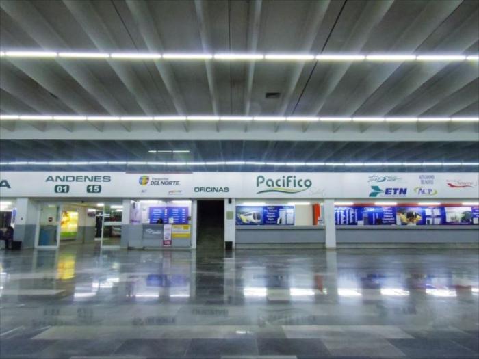 グアダラハラへ夜行バス移動 (2)