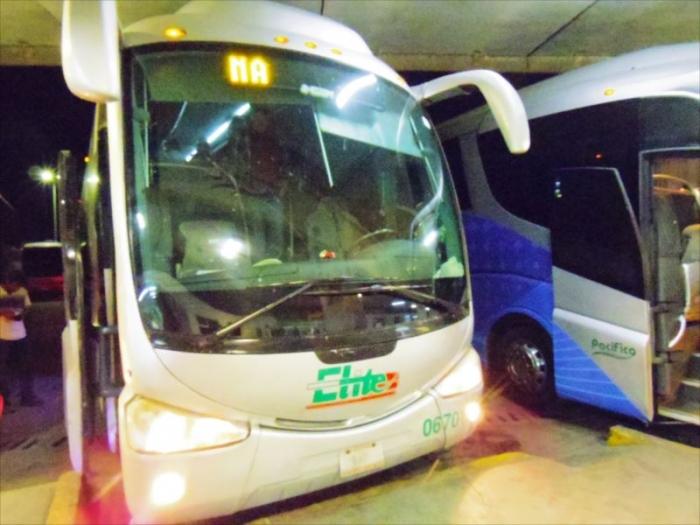 グアダラハラへ夜行バス移動 (1)
