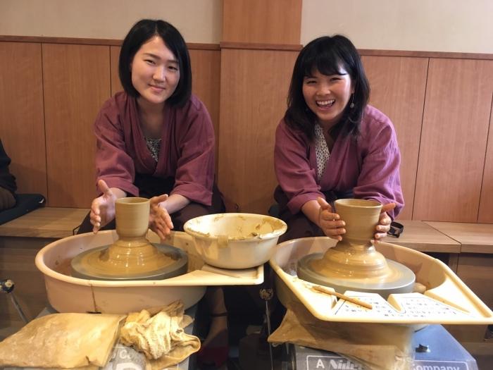 京都で陶芸