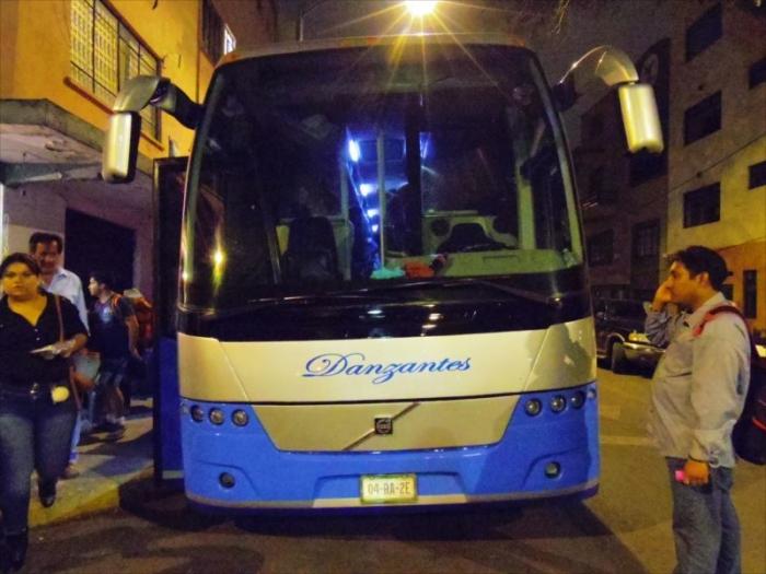 夜行バスでオアハカへ (5)