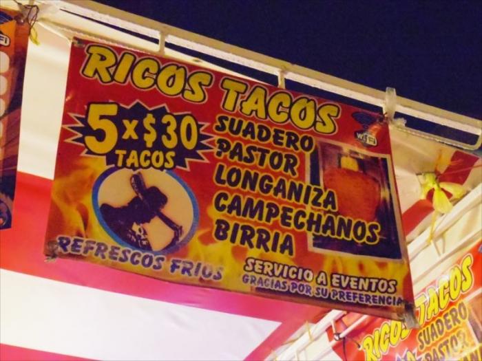 メキシコシティみんなでタコス (2)