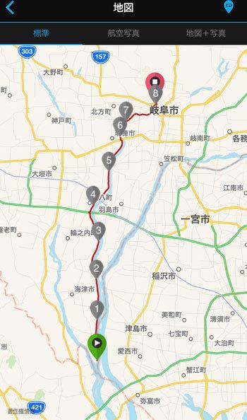 長良川サイクリングロード