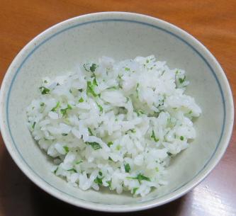 クコの葉ご飯